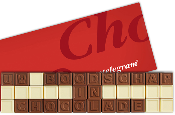 Chocotelegram 36 letters | Barry Callebaut chocolade | UTZ